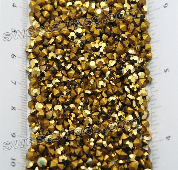 Austria Chatons Xilion Wholesale Supplier Aurum Gold SS24
