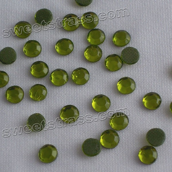 Cheap Wholesale Rhinestones China C Olivine SS34
