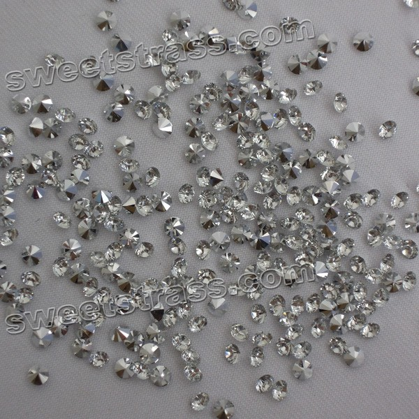 Epoxy Chaton Strass Pointed Back Crystal
