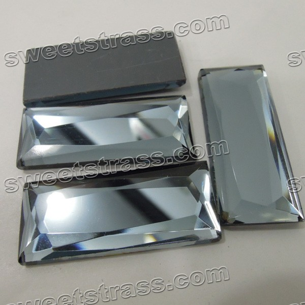 Fancy Flat Back Crystal Beads Wholesale- Rectangle