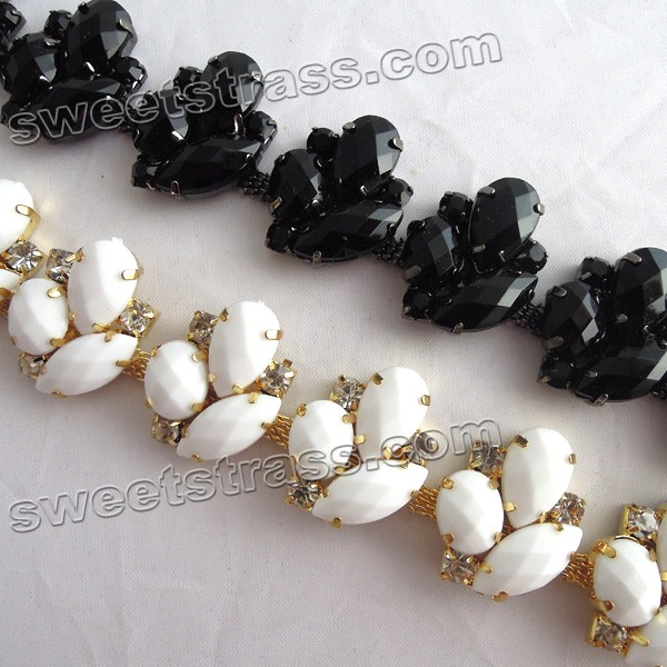 Fancy Crystal Rhinestone Cup Chain Suppliers