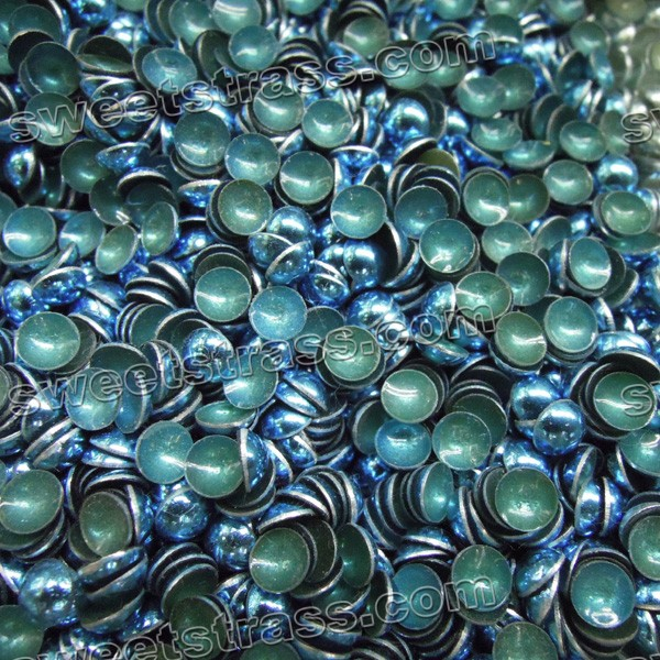 Hotfix Dome Rhinestuds Wholesale- Blue