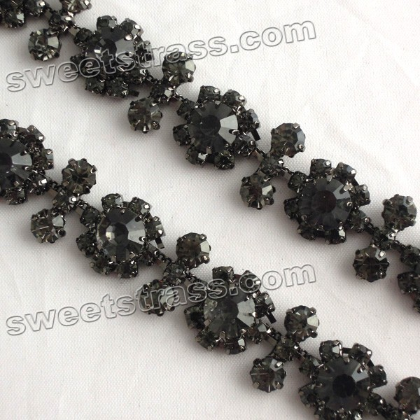<b>Shoes Accessories Rhinstone Cup Chain Trim Wholesale</b>