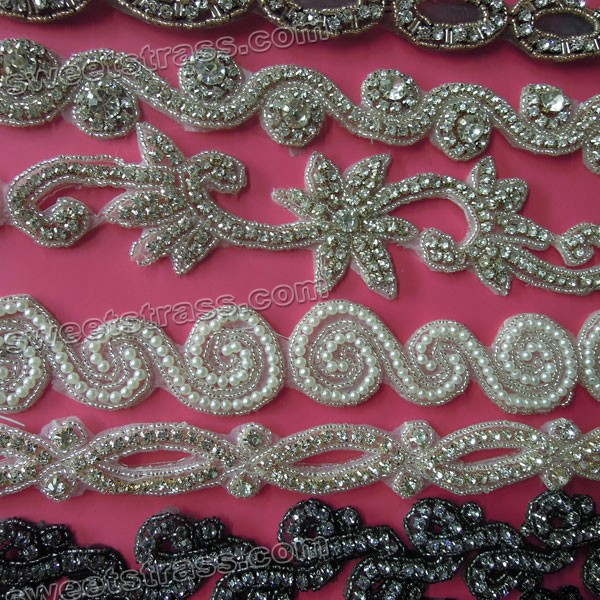 Pearl And Rhinestone Embellishments Wholesale