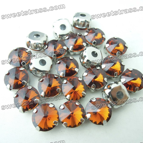 Wholesale Montee Glass Rivoli Rhinestone Jewels