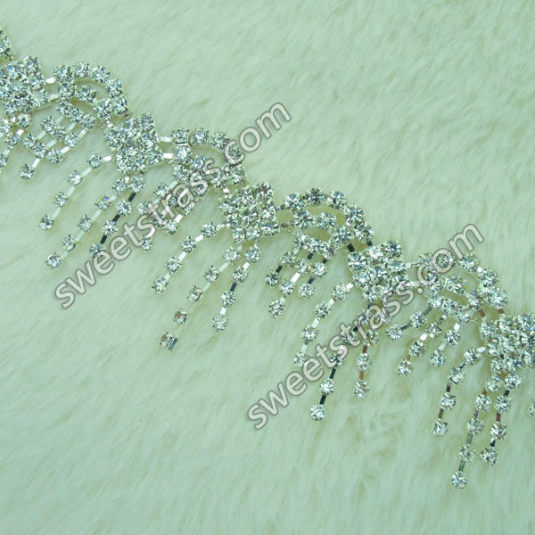 Wholesale Cup Chain Crystal Rhinestone Jewelry Trim