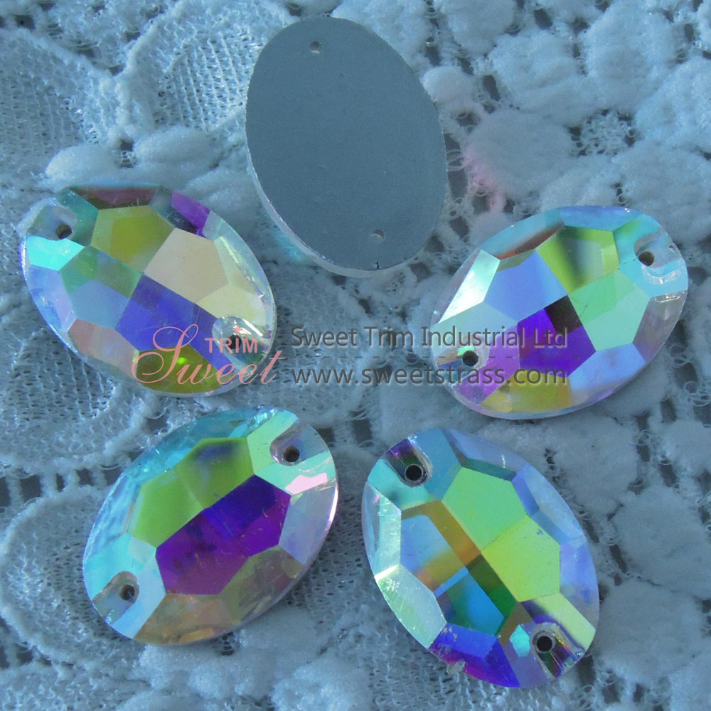 Wholesale Fancy Shape Sew On Stone,Strass Rhinestones With Holes