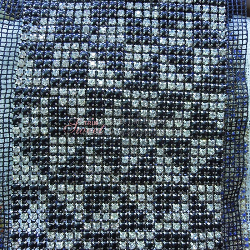 Wholesale Shoes Bags Accessories Pearl And Strass Rhinestone Mesh Trim