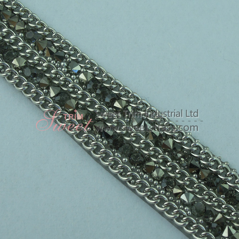 Hot Fix Crystal Rhinestone Chain Trimming Wholesale