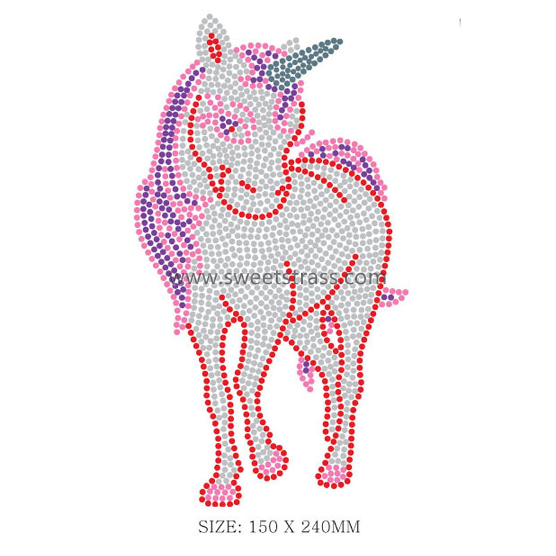 Animal Hotfix Motif Crystal Rhinestone Transfer