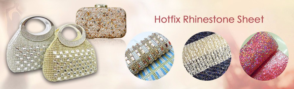Hotfix resin stone adhesive strass rhinestone sheet for clothing bag shoes