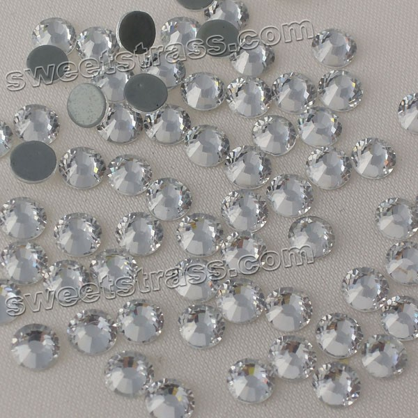 Hot Fix Crystals Rhinestones MC Crystal Clear SS16