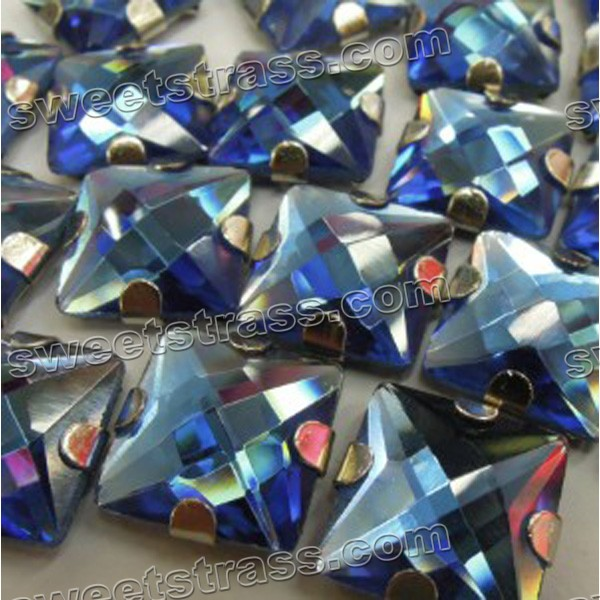 Glass Large Sew On Rhinestones Sets Square