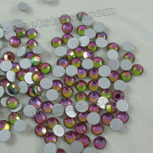 Non Hot Fix Flatback Strass Rhinestones Rainbow