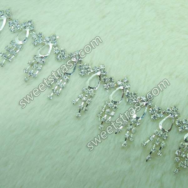 Wholesale Cup Chain Strass Rhinestone Jewelry For Garment