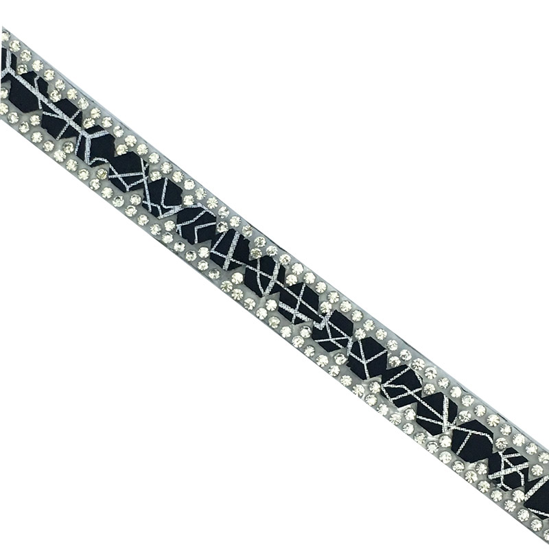 Crystal rhinestone strass Fashional trim Popular hot fix trim for shoes