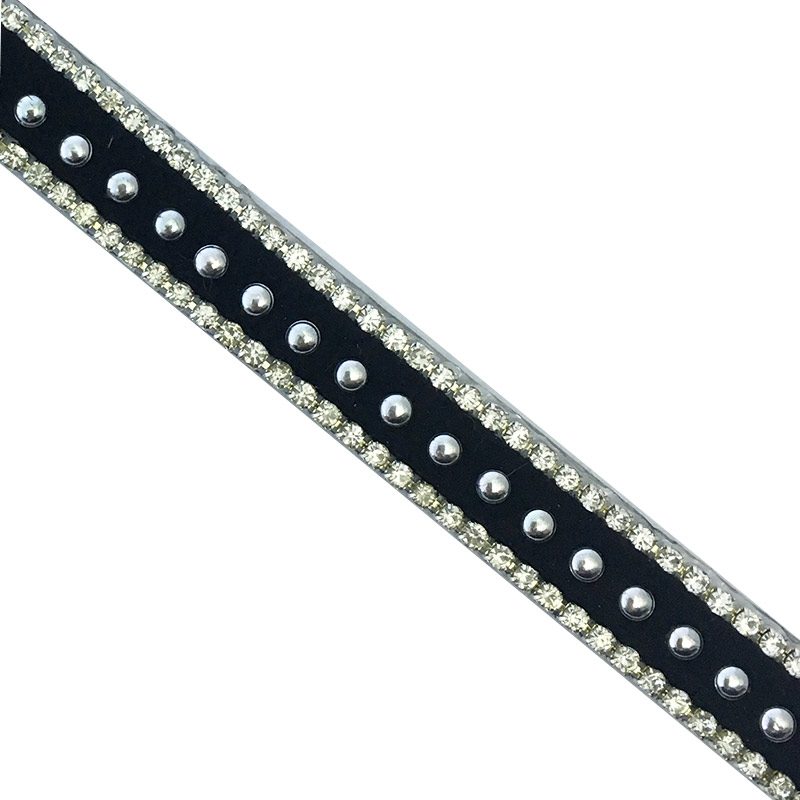 White crystal rhinestone pearl strass Fashionable trim Popular wholesell trim